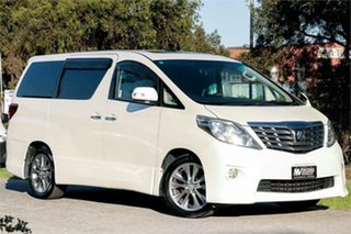 2010 Toyota Alphard ANH20W 240S White 1 Speed Constant Variable Van Wagon.