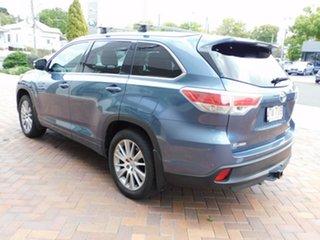 2013 Toyota Kluger GSU45R MY12 Grande AWD Blue 5 Speed Sports Automatic Wagon.