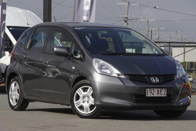 Used Honda Jazz GE MY12 GLi Rocklea, 2012 Honda Jazz GE MY12 GLi Polished Metal 5 Speed Automatic Hatchback