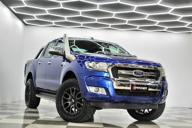 Used Ford Ranger PX MkII MY17 XLT 3.2 (4x4) Burleigh Heads, 2016 Ford Ranger PX MkII MY17 XLT 3.2 (4x4) Blue 6 Speed Automatic Double Cab Pick Up