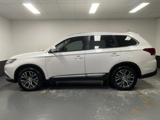 2015 Mitsubishi Outlander ZJ MY14.5 LS 4WD White 6 Speed Constant Variable Wagon