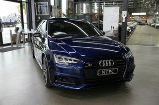 2017 Audi S4 B9 8W MY17 Tiptronic Quattro Blue 8 Speed Sports Automatic Sedan