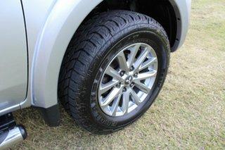 2016 Mitsubishi Triton MQ MY16 GLS Double Cab Silver 6 Speed Manual Utility