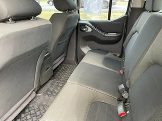2011 Nissan Navara D40 MY11 ST-X White 5 Speed Automatic Utility