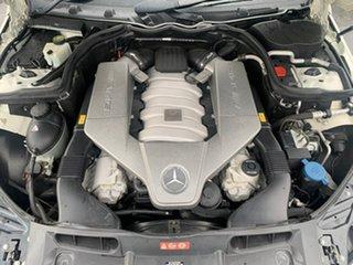 2008 Mercedes-Benz C-Class W204 C63 AMG White 7 Speed Sports Automatic Sedan