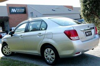2014 Toyota Corolla NKE165 Axio Silver 1 Speed Constant Variable Sedan.