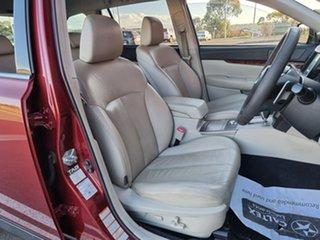 2010 Subaru Outback B5A MY10 3.6R AWD Premium Red 5 Speed Sports Automatic Wagon.