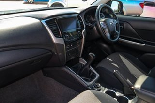 2019 Mitsubishi Triton MR MY19 GLS Double Cab Grey 6 Speed Manual Utility