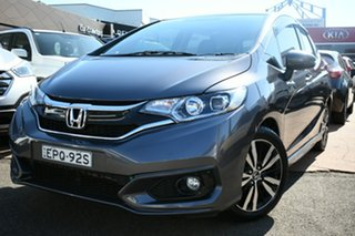 2017 Honda Jazz GK MY17 VTi-S Silver Continuous Variable Hatchback.