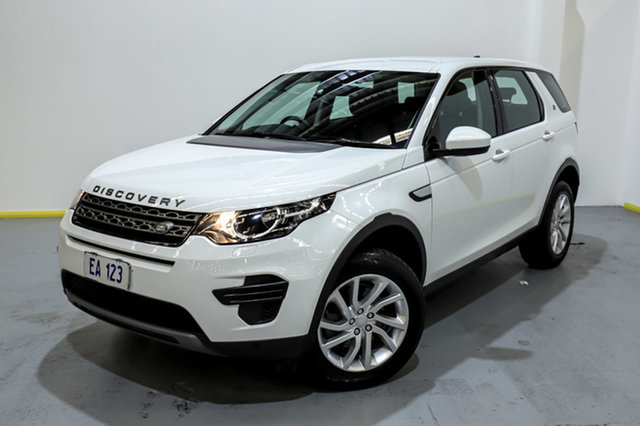 Used Land Rover Discovery Sport L550 18MY SE Canning Vale, 2018 Land Rover Discovery Sport L550 18MY SE White 9 Speed Sports Automatic Wagon