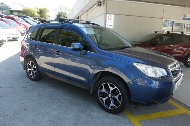 Used Subaru Forester S4 MY13 2.0D-S AWD East Maitland, 2012 Subaru Forester S4 MY13 2.0D-S AWD Blue 6 Speed Manual Wagon