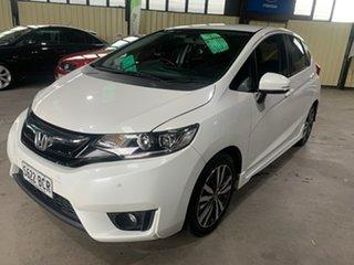 2014 Honda Jazz GK MY15 VTi-S White Continuous Variable Hatchback