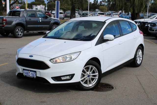 Used Ford Focus LZ Trend Midland, 2016 Ford Focus LZ Trend White 6 Speed Manual Hatchback