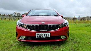 2017 Kia Cerato YD MY17 Sport Temptation Red 6 Speed Sports Automatic Hatchback.