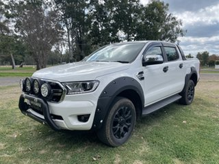 2020 Ford Ranger PX MkIII 2020.75MY XLT Antartic White 10 Speed Sports Automatic Double Cab Pick Up.