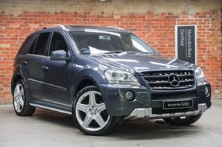 2010 Mercedes-Benz M-Class W164 MY10 ML300 CDI BlueEFFICIENCY AMG Sports Tenorite Grey 7 Speed.