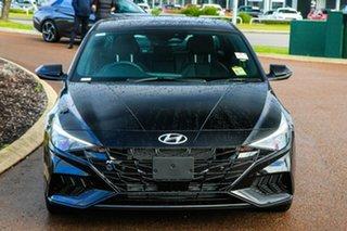 2021 Hyundai i30 CN7.V1 MY21 N Line D-CT Premium Phantom Black 7 Speed Sports Automatic Dual Clutch.
