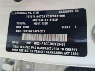 2019 Toyota Hilux Glacier White Automatic Dual Cab