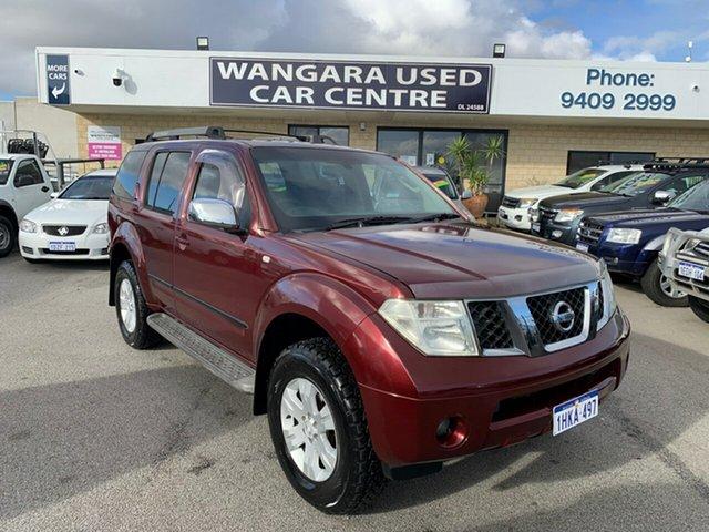 Used Nissan Pathfinder R51 ST-L (4x4) Wangara, 2006 Nissan Pathfinder R51 ST-L (4x4) Red 5 Speed Automatic Wagon
