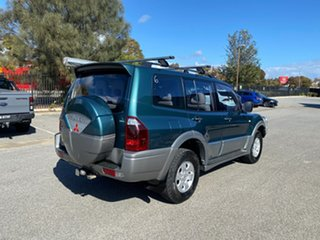 2003 Mitsubishi Pajero NP MY04 Exceed Green 5 Speed Sports Automatic Wagon