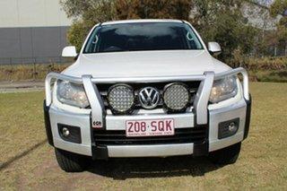 2012 Volkswagen Amarok 2H MY12.5 TDI400 4Mot Highline White 6 Speed Manual Utility.