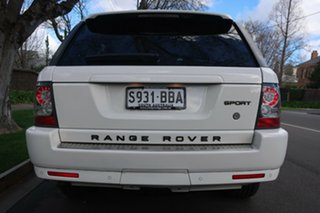 2009 Land Rover Range Rover Sport L320 10MY TDV6 White 6 Speed Sports Automatic Wagon