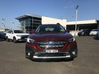 2021 Subaru Outback B7A MY21 AWD CVT Crimson Red 8 Speed Constant Variable Wagon.