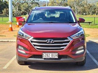2017 Hyundai Tucson TL MY18 Active X 2WD Burgundy 6 Speed Sports Automatic Wagon.