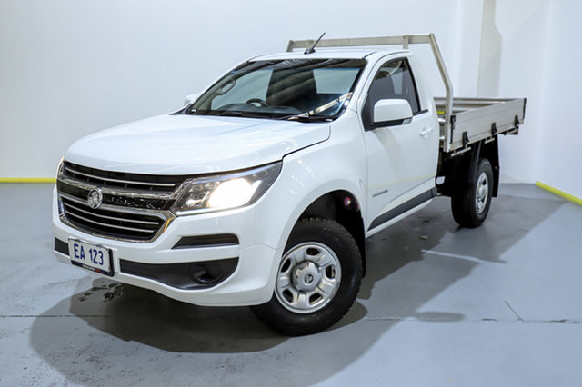 Used Holden Colorado RG MY17 LS 4x2 Canning Vale, 2017 Holden Colorado RG MY17 LS 4x2 White 6 Speed Sports Automatic Cab Chassis