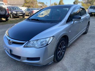 2007 Honda Civic 8th Gen MY07 VTi-L Silver 5 Speed Manual Sedan.