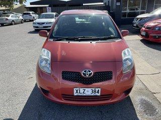 2006 Toyota Yaris NCP90R YR Orange 5 Speed Manual Hatchback.