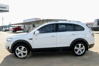 2012 Holden Captiva CG Series II MY12 7 AWD LX White 6 Speed Sports Automatic Wagon