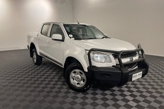 2015 Holden Colorado RG MY16 LS Crew Cab White 6 speed Automatic Utility.