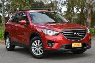 2016 Mazda CX-5 KE1032 Maxx SKYACTIV-Drive AWD Sport Red 6 Speed Sports Automatic Wagon.