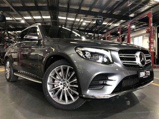 2017 Mercedes-Benz GLC250D 253 MY17 Grey 9 Speed Automatic Wagon.