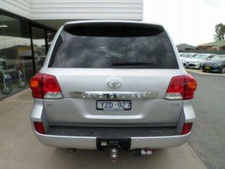 2012 Toyota Landcruiser VDJ200R MY12 VX (4x4) Silver Pearl 6 Speed Automatic Wagon.