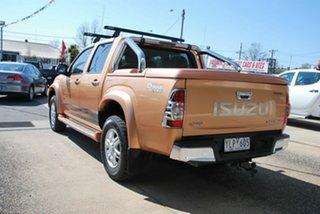 2010 Isuzu D-MAX TF MY10 Limited Edition II (4x4) Orange 5 Speed Manual Crew Cab Utility