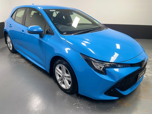 Used Toyota Corolla Mzea12R Ascent Sport Rutherford, 2018 Toyota Corolla Mzea12R Ascent Sport Blue 10 Speed Constant Variable Hatchback