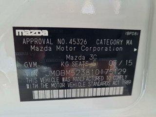 2015 Mazda 3 BM MY15 SP25 GT Safety White 6 Speed Automatic Sedan