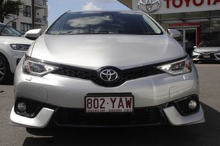 2018 Toyota Corolla ZRE182R ZR S-CVT Silver 7 Speed Constant Variable Hatchback.