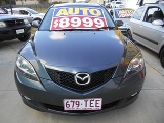 2008 Mazda 3 BK10F2 Maxx Sport Grey 4 Speed Sports Automatic Hatchback.