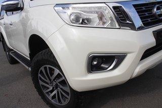 2017 Nissan Navara D23 S2 ST-X White Diamond 6 Speed Manual Utility.