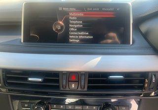 2015 BMW X6 F16 xDrive50i Coupe Steptronic Black 8 Speed Sports Automatic Wagon