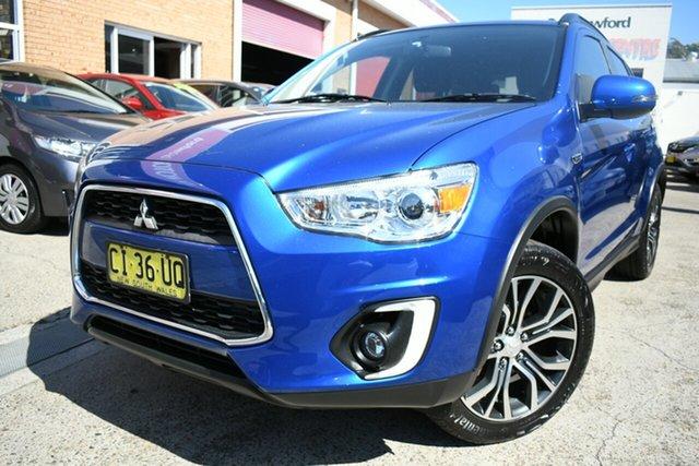 Used Mitsubishi ASX XB MY15.5 LS (2WD) Narrabeen, 2016 Mitsubishi ASX XB MY15.5 LS (2WD) Blue Continuous Variable Wagon