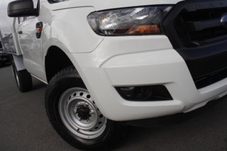 2017 Ford Ranger PX MkII XL Cool White 6 Speed Manual Cab Chassis.