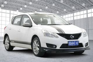2013 Nissan Pulsar C12 ST-S White 6 Speed Manual Hatchback.
