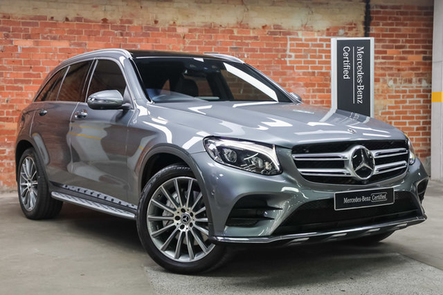 Certified Pre-Owned Mercedes-Benz GLC-Class X253 808MY GLC250 9G-Tronic 4MATIC Mulgrave, 2018 Mercedes-Benz GLC-Class X253 808MY GLC250 9G-Tronic 4MATIC Grey 9 Speed Sports Automatic Wagon