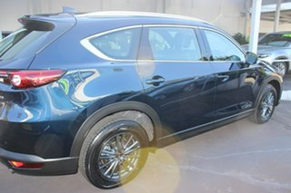 2020 Mazda CX-8 KG2WLA Touring SKYACTIV-Drive FWD Blue 6 Speed Sports Automatic Wagon