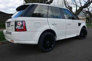 2009 Land Rover Range Rover Sport L320 10MY TDV6 White 6 Speed Sports Automatic Wagon.