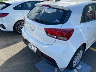 2021 Kia Rio YB MY22 S Clear White 6 Speed Automatic Hatchback